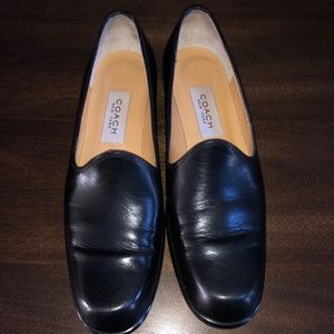 Coach Vintage Leather Loafers